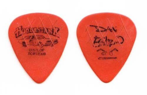 Hoobastank Dan Estrin Signature Orange Guitar Pick - 2004 Tour