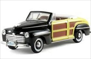 1946 FORD WOODY SPORTSMAN BLACK 1/32 DIECAST MODEL CAR BY ARKO PRODUCTS 04601