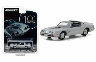 1979 PONTIAC FIREBIRD T/A SILVER 1/64 DIECAST MODEL CAR BY GREENLIGHT 27940 D d'occasion  Expédié en Belgium