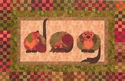 "Spelling Beasts ""Dog""  Quilt Pattern by Helene Knott"