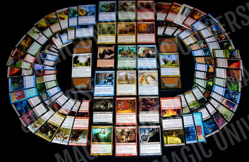 Mtg Magic: The Gathering Lot - 50 Rares & 100 Uncommons