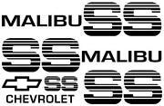 Malibu Decal