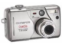 Olympus CAMEDIA C-50 Zoom 5.0 MP Digital Camera – Silver