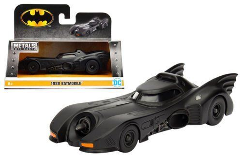 JADA METALS BATMAN 1989 BATMOBILE 1:32 DIECAST CAR MODEL 982
