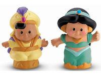 Disney Princess Little People Jasmine and Aladdin
