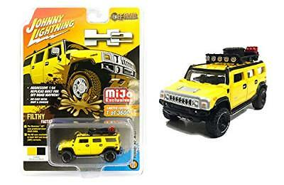 Wagoneer Off Road - Johnny Lightning 1:64 Hummer H2 Wagon 4x4 w/Roof Rack Off Road JLCP7156