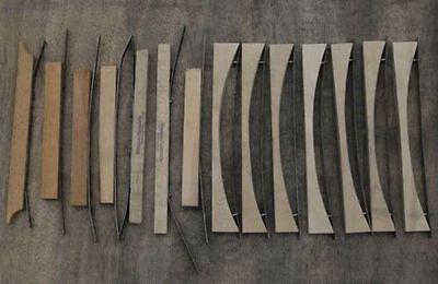 14 Spannleisten für Steckschriftkasten Bleisatz Druckerei letterpress Druck