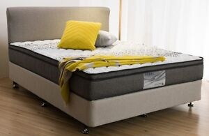 Regal Sleep Solutions Spinal Plush Queen Mattress & grey base unused Kingsville Maribyrnong Area Preview