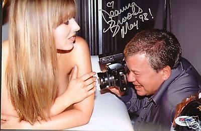 Deanna Brooks W  William Shatner Signed 7X10 Photo Psa