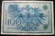 100 Reichsbanknote 1908