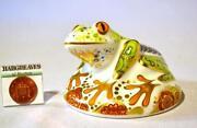 Royal Crown Derby Frog