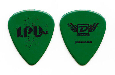 Linkin Park Underground 5.0 Green Guitar Pick - 2014 Tour