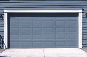 Price of a New Garage or Replacement Door ...slowing you down ?