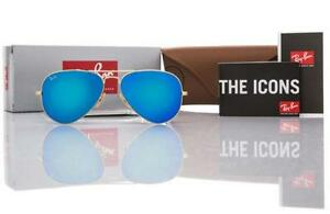 ray ban mirrored aviators  ray ban aviator blue mirror