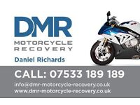 Motorcycle recovery within m25 breakdown ground anchor fitting service motorbike,moped,scooter,MP3