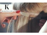 Tape Hair Extensions by Kapello Hair as seen on Ellie Goulding