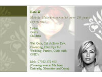 Mobile Hairdresser - Fife