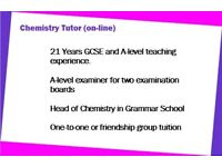 Chemistry Tuition GCSE and A-level from A-level Examiner and Grammar Sch Head of Chemistry