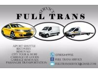 FULLTRANS SERVICE LTD> RECOVERY SERVICE> REMOVALS> AIRPORT SHUTTLE> LOW PRICE> 24h/7