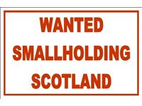 Smallholding or Land in Scotland To Buy.