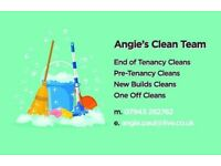 End Of Tenancy/New Build Cleaning team/One off clean etc