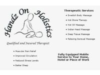 Mobile Qualified Masseur - Get therapy in your own home. Ayrshire, Glasgow and Paisley