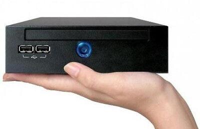 Used, Intel T4400 NVIDIA HTPC Slim Compact Mini PC Computer HDMI 2GB XBMC Kodi for sale  Los Angeles