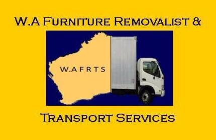 W.A Furniture Removalist & Transport Services West Perth Perth City Preview