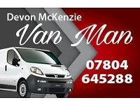 man with a van,tip runs,removal,courier,ikea pick up,ebay,facebook,gumtree