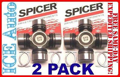 2 Pack  Spicer Universal U Joint Kit Front Axle Shaft Dana Cherokee Xj Jeep Oem