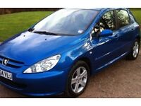 Peugeot 307 diesel SHDi 110 2L Blue - DRIVES - REPAIR OR SPARES