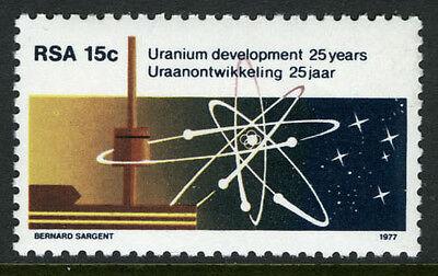 South Africa 498, MI 535, MNH. Nuclear Power Plant. Uranium Atom, 1977