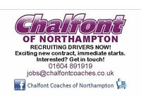 Love driving? We are looking for Coach (and/or Bus) Drivers!