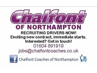 Love driving? Coach Drivers Needed - get in touch!