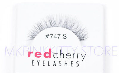 Red Cherry Lashes #747S False Eyelashes  Fake - Red Fake Eyelashes