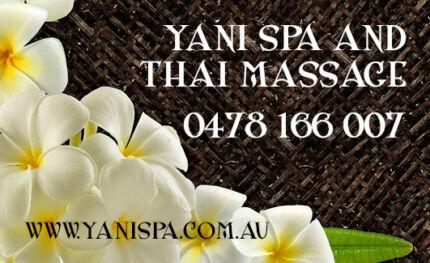 Yani Spa and Thai Massage Como South Perth Area Preview