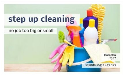 Step up cleaning