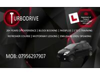 TurboDrive - Fast Paced Old School Driving Lessons - 20+ Years Experience