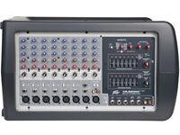 P A System incl Mixer, Mic, Speakers and Stands