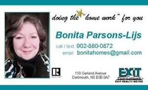 For All Your Real Estate Needs Contact Bonita
