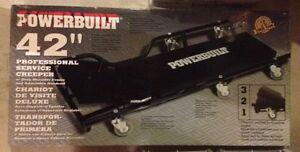 "Powerbuilt 42"" Automotive Floor Creeper"