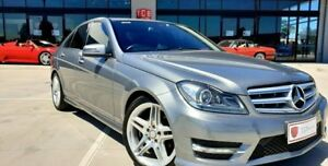 2012 Mercedes-Benz C250 W204 MY13 BlueEFFICIENCY 7G-Tronic + Avantgarde Silver 7 Speed Laverton North Wyndham Area Preview