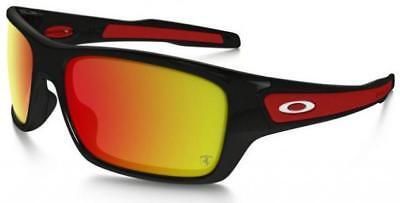 New Oakley - Ferrari Turbine - Polished Black / Ruby Iridium, OO9263-3963 segunda mano  Embacar hacia Mexico