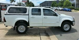 2008 Holden Rodeo RA MY08 LT Crew Cab White Manual Utility Garbutt Townsville City Preview
