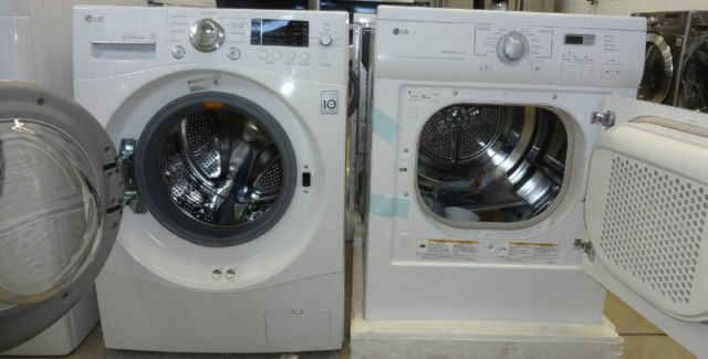 stackable washer dryer front load units for cheap. Black Bedroom Furniture Sets. Home Design Ideas