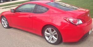 REDUCED: 2010 Hyundai Genesis Coupe 3.8L V6 Red