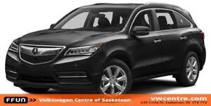 2014 Acura MDX Elite Package Heated Steering Wheel, Heated/Ve...