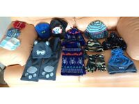 Kid's Hats, Scarf's & Gloves Bundle