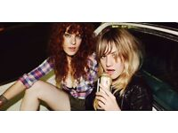 Deap Vally @ Islington Assembley Hall x 2 Tickets 16/09/2016
