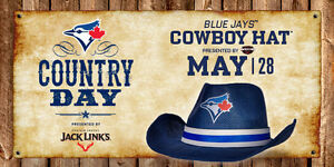 Two Tickets Blue Jays vs Rangers May 28, 2017 Cowboy Day